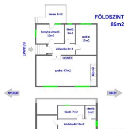 Eladó  családi ház (<span class='notranslate'>Nyíregyháza</span>, <span class='notranslate'>Belváros közeli</span>) 49,9 M   <span class='notranslate'>Ft</span>