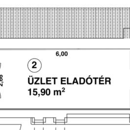 Kiadó  üzlet (<span class='notranslate'>Budapest, VIII.  </span>kerület) 90 E   <span class='notranslate'>Ft</span>/hó