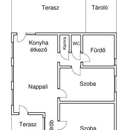 Eladó  családi ház (<span class='notranslate'>Nyírtura</span>, <span class='notranslate'></span>) 28,9 M   <span class='notranslate'>Ft</span>