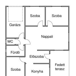 Eladó  családi ház (<span class='notranslate'>Nyíregyháza</span>, <span class='notranslate'>Rozsrétszőlő</span>) 42,9 M   <span class='notranslate'>Ft</span>