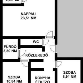 Kiadó  téglalakás (<span class='notranslate'>Budapest, II.  </span>kerület) 250 E   <span class='notranslate'>Ft</span>/hó