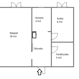 Eladó  panellakás (<span class='notranslate'>Budapest, XIII.  </span>kerület) 27,9 M   <span class='notranslate'>Ft</span>