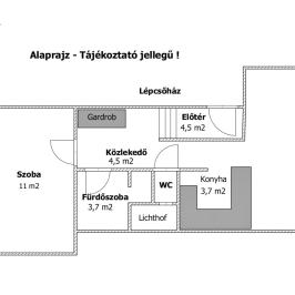 Kiadó  téglalakás (<span class='notranslate'>Budapest, XIII.  </span>kerület) 200 E   <span class='notranslate'>Ft</span>/hó