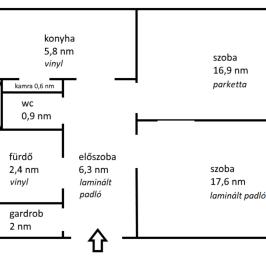 Eladó  panellakás (<span class='notranslate'>Budapest, III.  </span>kerület) 31 M   <span class='notranslate'>Ft</span>