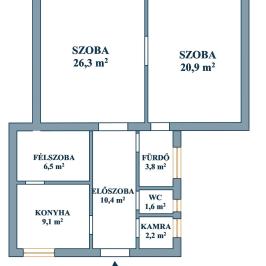 Eladó  téglalakás (<span class='notranslate'>Budapest, XI.  </span>kerület) 51,5 M   <span class='notranslate'>Ft</span>