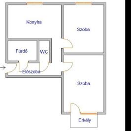 Eladó  panellakás (<span class='notranslate'>Nyíregyháza</span>, <span class='notranslate'>Érkert</span>) 18.5 M   <span class='notranslate'>Ft</span>