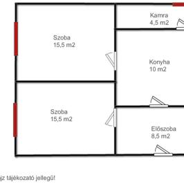 Eladó  családi ház (<span class='notranslate'>Perőcsény</span>, <span class='notranslate'></span>) 5.9 M   <span class='notranslate'>Ft</span>
