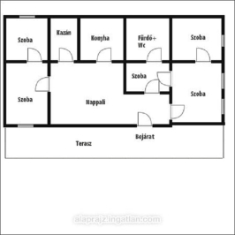 Eladó  családi ház (<span class='notranslate'>Nyíregyháza</span>, <span class='notranslate'>Nyírszőlős</span>) 16,5 M   <span class='notranslate'>Ft</span>