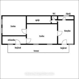 Eladó  családi ház (<span class='notranslate'>Nyírpazony</span>, <span class='notranslate'></span>) 16,9 M   <span class='notranslate'>Ft</span>