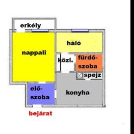 Eladó  panellakás (<span class='notranslate'>Eger</span>, <span class='notranslate'>Maklárihóstya</span>) 23 M   <span class='notranslate'>Ft</span>