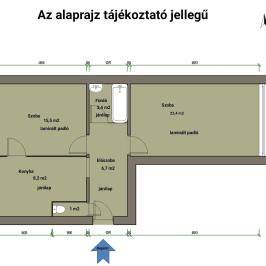 Eladó  panellakás (<span class='notranslate'>Vác</span>, <span class='notranslate'>Alsóváros</span>) 23,5 M   <span class='notranslate'>Ft</span>
