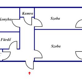 Eladó  téglalakás (<span class='notranslate'>Békéscsaba</span>, <span class='notranslate'>Békéscsaba-Belváros</span>) 15,7 M   <span class='notranslate'>Ft</span>
