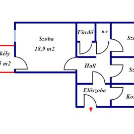 Eladó  panellakás (<span class='notranslate'>Budapest, IV.  </span>kerület) 31,5 M   <span class='notranslate'>Ft</span>