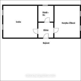 Eladó  családi ház (<span class='notranslate'>Nyíregyháza</span>, <span class='notranslate'>Borbánya</span>) 11,4 M   <span class='notranslate'>Ft</span>