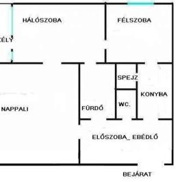 Eladó  panellakás (<span class='notranslate'>Eger</span>, <span class='notranslate'>Felsőváros</span>) 15.4 M   <span class='notranslate'>Ft</span>