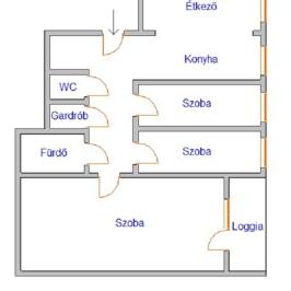 Eladó  panellakás (<span class='notranslate'>Nyíregyháza</span>, <span class='notranslate'>Malomkert</span>) 20,5 M   <span class='notranslate'>Ft</span>