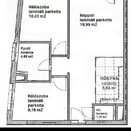 Kiadó  téglalakás (<span class='notranslate'>Budapest, XIV.  </span>kerület) 195 E   <span class='notranslate'>Ft</span>/hó