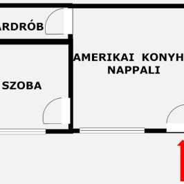 Kiadó  téglalakás (<span class='notranslate'>Budapest, V.  </span>kerület) 180 E   <span class='notranslate'>Ft</span>/hó