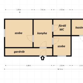 Eladó  családi ház (<span class='notranslate'>Tatabánya</span>, <span class='notranslate'>Felsőgalla</span>) 20,9 M   <span class='notranslate'>Ft</span>