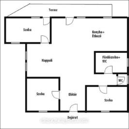 Eladó  családi ház (<span class='notranslate'>Nyíregyháza</span>, <span class='notranslate'>Nyírszőlős</span>) 38,9 M   <span class='notranslate'>Ft</span>