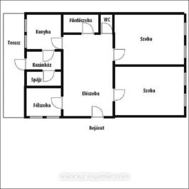 Eladó  családi ház (<span class='notranslate'>Nyíregyháza</span>, <span class='notranslate'>Borbánya</span>) 29,99 M   <span class='notranslate'>Ft</span>