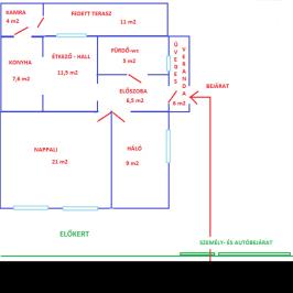 Eladó  családi ház (<span class='notranslate'>Nyíregyháza</span>, <span class='notranslate'>Belváros közeli</span>) 25,7 M   <span class='notranslate'>Ft</span>
