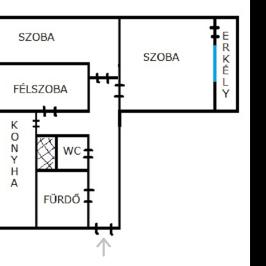 Eladó  panellakás (<span class='notranslate'>Cegléd</span>, <span class='notranslate'>Belváros</span>) 16,8 M   <span class='notranslate'>Ft</span>