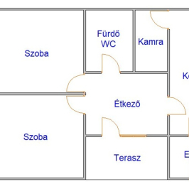 Eladó  családi ház (<span class='notranslate'>Kótaj</span>, <span class='notranslate'></span>) 8,9 M   <span class='notranslate'>Ft</span>