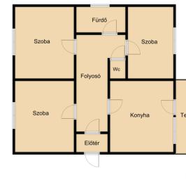 Eladó  családi ház (<span class='notranslate'>Nyíregyháza</span>, <span class='notranslate'>Nyírszőlős</span>) 17 M   <span class='notranslate'>Ft</span>