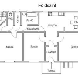 Eladó  családi ház (<span class='notranslate'>Nyíregyháza</span>, <span class='notranslate'>Sóstóhegy</span>) 33 M   <span class='notranslate'>Ft</span>