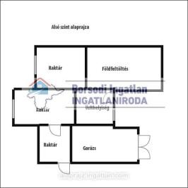 Eladó  családi ház (<span class='notranslate'>Onga</span>, <span class='notranslate'></span>) 29 M   <span class='notranslate'>Ft</span>