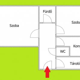 Kiadó  téglalakás (<span class='notranslate'>Budapest, XIV.  </span>kerület) 100 E   <span class='notranslate'>Ft</span>/hó