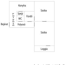 Eladó  panellakás (<span class='notranslate'>Vác</span>, <span class='notranslate'>Deákvár</span>) 24,5 M   <span class='notranslate'>Ft</span>