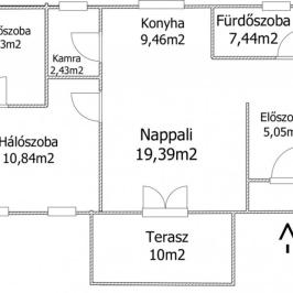 Eladó  családi ház (<span class='notranslate'>Bőny</span>, <span class='notranslate'></span>) 18,4 M   <span class='notranslate'>Ft</span>