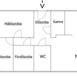 Eladó  téglalakás (<span class='notranslate'>Győr</span>, <span class='notranslate'>Nádorváros</span>) 37 M   <span class='notranslate'>Ft</span> +ÁFA