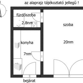 Eladó  téglalakás (<span class='notranslate'>Budapest, IV.  </span>kerület) 14,9 M   <span class='notranslate'>Ft</span>