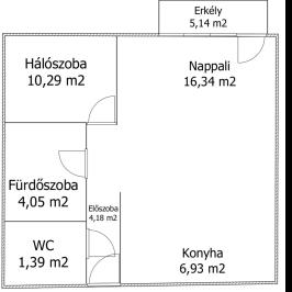 Eladó  téglalakás (<span class='notranslate'>Győr</span>, <span class='notranslate'>Szabadhegy</span>) 30,5 M   <span class='notranslate'>Ft</span>