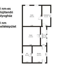 Eladó  családi ház (<span class='notranslate'>Tápiógyörgye</span>, <span class='notranslate'></span>) 4.2 M   <span class='notranslate'>Ft</span>