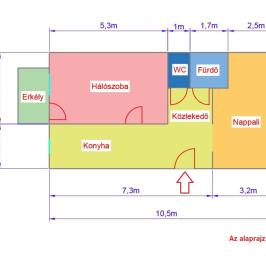 Eladó  panellakás (<span class='notranslate'>Budapest, XIII.  </span>kerület) 36,9 M   <span class='notranslate'>Ft</span>