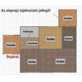 Eladó  családi ház (<span class='notranslate'>Borsosberény</span>, <span class='notranslate'></span>) 9,5 M   <span class='notranslate'>Ft</span>