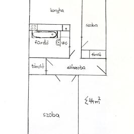 Eladó  panellakás (<span class='notranslate'>Dunaújváros</span>, <span class='notranslate'>Belváros</span>) 13.7 M   <span class='notranslate'>Ft</span>