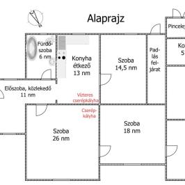 Eladó  családi ház (<span class='notranslate'>Vámosmikola</span>, <span class='notranslate'></span>) 21 M   <span class='notranslate'>Ft</span>