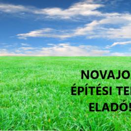 Eladó  telek (<span class='notranslate'>Novaj</span>, <span class='notranslate'></span>) 3,9 M   <span class='notranslate'>Ft</span>