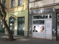 Békés megye Békéscsaba - üzlethelyiség utcai bejáratos