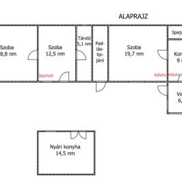 Eladó  családi ház (<span class='notranslate'>Vámosmikola</span>, <span class='notranslate'></span>) 3,9 M   <span class='notranslate'>Ft</span>