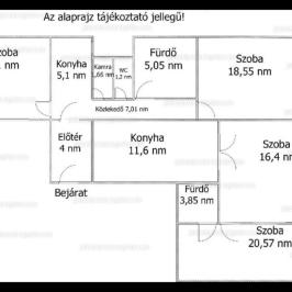 Eladó  téglalakás (<span class='notranslate'>Budapest, VII.  </span>kerület) 66 M   <span class='notranslate'>Ft</span>