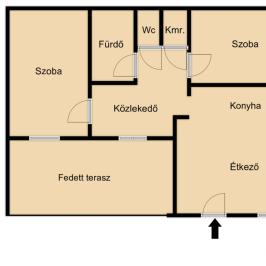 Eladó  családi ház (<span class='notranslate'>Nyíregyháza</span>, <span class='notranslate'>Borbánya</span>) 15.9 M   <span class='notranslate'>Ft</span>