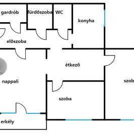 Eladó  panellakás (<span class='notranslate'>Budapest, X.  </span>kerület) 37,9 M   <span class='notranslate'>Ft</span>