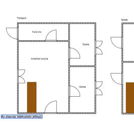 Eladó  családi ház (<span class='notranslate'>Érsekvadkert</span>, <span class='notranslate'></span>) 14 M   <span class='notranslate'>Ft</span>