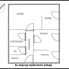 Eladó  panellakás (<span class='notranslate'>Tököl</span>, <span class='notranslate'>Pesti úti lakótelep</span>) 21 M   <span class='notranslate'>Ft</span>